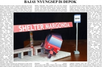 Bus Shelter, Built by Ade Aulia