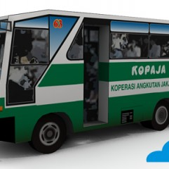 Kopaja Shuttle Bus